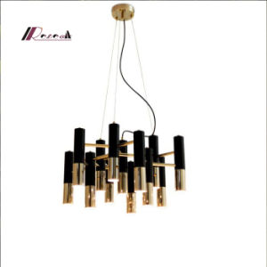 Modern 13 Lights Pendant Lighting with Black and Gold pictures & photos