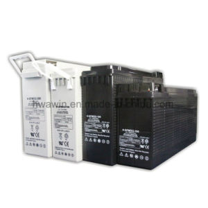 12V 100ah 150ah 180ah Front M8 Terminal Battery pictures & photos