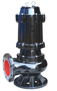 High Quality Cast Iron Electrical Submersible Sewage Water Pump (WQ100-25-11) pictures & photos