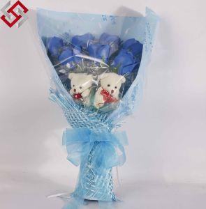 7PCS Beautiful Wedding Home Decoration Artificial Bouquet Soap Rose Flower
