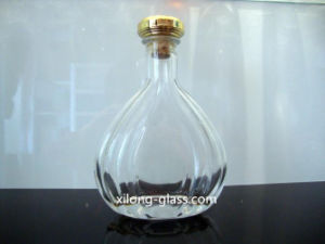 500ml Crystal Glass Tequila Bottle with Cork