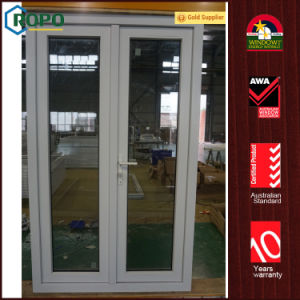 PVC Replacement Double Swing Entry Glass Doors for House pictures & photos