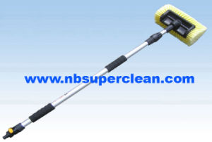 Five Side Touching Heavy Duty Water Flow Soft Bristle Car Wash Brush (CN1969) pictures & photos