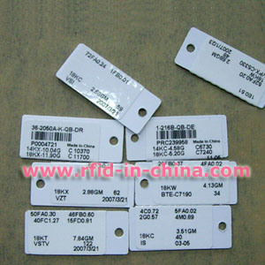 RFID Jewelry Tag for Jewelry Tracking pictures & photos