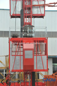 Widely Used Frequency High Speed Building \ Construction Elevator pictures & photos