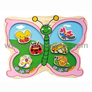 Wooden Lacing Butterfly Toy (81241) pictures & photos