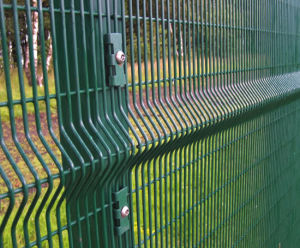 PVC Coated 3D Wire Fence, Garden Fencing pictures & photos