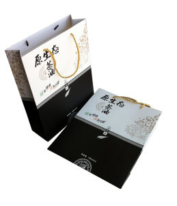 New Design High Quality Printing Paper Gift Bag (YY-B0111) pictures & photos