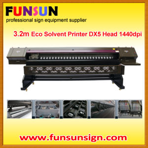 New 3.2m 1440dpi Eco Solvent Printer with Epson Dx5 Head (BEMA JET) pictures & photos