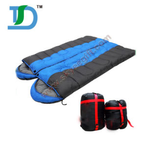 Camping Travel Warmth Lover Double Sleeping Bag pictures & photos
