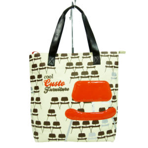 Leisure Colorful Printing Lady Bags for Shopping pictures & photos