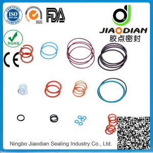 NBR O Ring for Dust Prevention Sealing with SGS RoHS FDA Certificates As568 Standard (O-RINGS-0063)