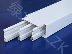 PVC Trunking Tube with Divider 100X50