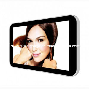 32′′ Aluminum Alloy Frame Network Digital Signage Board with RJ45/WiFi/3G