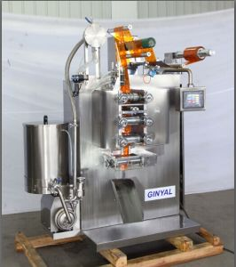 Ice Lolly Liquid Four-Side Sealing and Three-Line or Two-Line Packing Machine pictures & photos