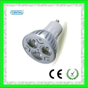 CE/RoHS Marked 3W GU10 LED Spotlight (BTGU10-SA001)