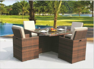 Classical Outdoor Garden Dining Table and Chair/Rattan Furniture