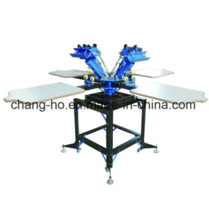 Manual T-Shirt Screen Printing Table pictures & photos