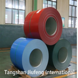 SPCC Prepainted Galvanized Iron Coil/Roll/Strip/Sheet 0.23mm-2.0mm for Metal Corrugated Roofing pictures & photos