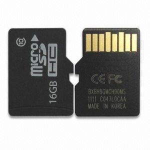 Class10 16GB Micro SD Card with Adaptor for Digital Camera HD Videos