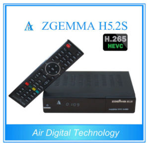 The Hottest New Product Zgemma H5.2s with Bcm73625 DVB-S2+S2 Twin Tuners Satellite Receiver Support Hevc/H. 265 pictures & photos