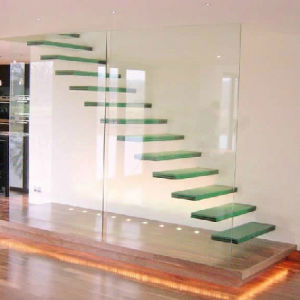 Clear Laminated Glass Flooring and Building pictures & photos