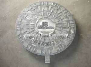 En 124 D400 Casting Iron Manhole Cover with Round Frame pictures & photos