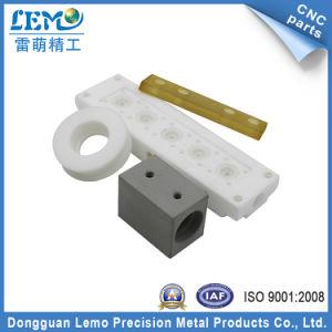 Precision PU/PVC/POM CNC Machined Part of Plastic Blocks (LM-239P) pictures & photos