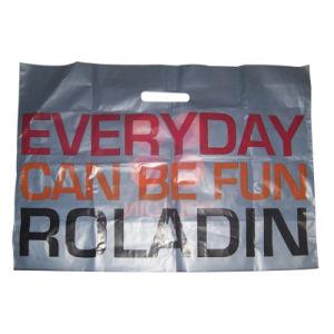 Printing Side Gusse Plastic Bag