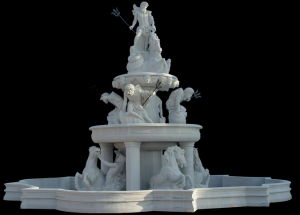 Public Fountain, Marble Stone Sculpture Fountain, Water Fountain (3789) pictures & photos