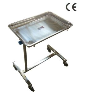 Stainless Steel Medical Instrument Trolley (THR-ST71) pictures & photos