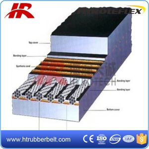 Excellent Performance Steel Cord Fire-Resistant Rubber Conveyor Belt
