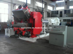 pin barrel cold feeding rubber extrusion machine pictures & photos