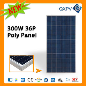 300W 156*156 Poly -Crystalline Solar Panel pictures & photos