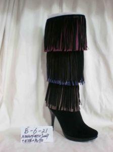 Lady Fashion High Heel Boot (B--6---21 A343+F451+5449+N396+PU190)