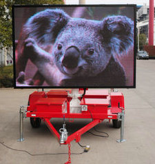 Vms Trailer with Video LED Sign Screen Full Color pictures & photos