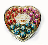 24 Pieces Colorful Heart Chocolate (H24C)