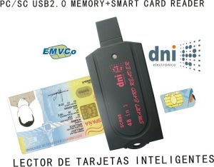 Smart Card Reader/Write All in One Pcsc Ccid (SCR80)