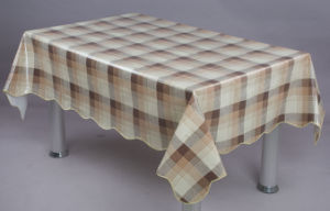 Opaque Tablecloth with Flannel (TJ0029A) pictures & photos
