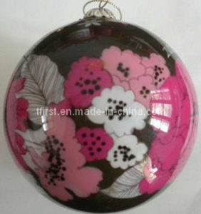 Hand Painted Christmas Ball (Fld08-25)