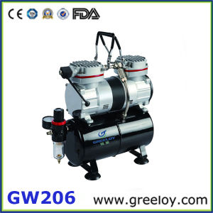 High Quality Electric Silent Mini Air Compressor (GW206)