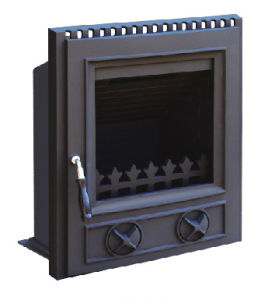 Inserted Cast Iron Stove (FIPD002) Fireplace, Room Heater pictures & photos