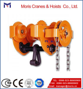 Hand-Controlled Drop Chain Geared Trolley pictures & photos