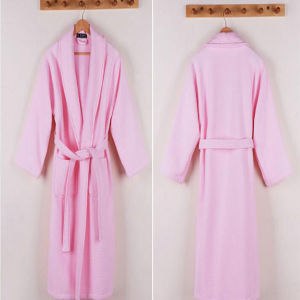 Hotel Nightgown with for 5 Star Hotel Pajamas & Bathrobe (DPF10143) pictures & photos