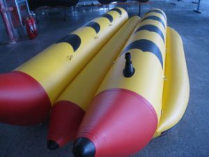 Inflatable Banana Boat Sb Series 4 Persons Double Row pictures & photos