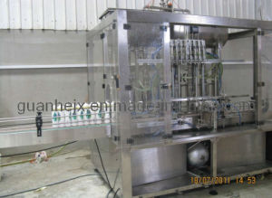 Auto 8-Nozzle Liquid Detergent Bottling Machine with Piston-Type Filling (GHALF-8) pictures & photos