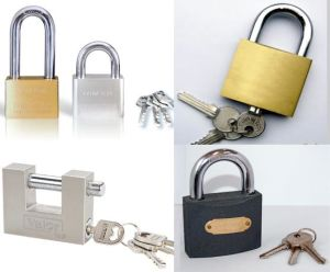 High Quality Grey Iron Padlock, Gold Plated Iron Padlock, Brass Padlock, Stainless Steel Padlock, Cyliner Lock, Solid pictures & photos