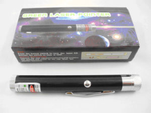Green Laser Pointer Star Head With Clip (QLP-G010) pictures & photos