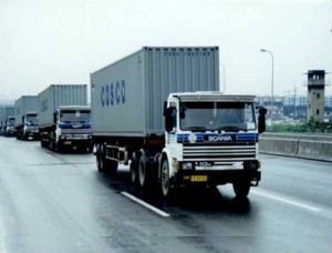 Inland Trucking Transportation Service for Container