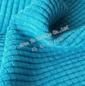 Cut Pile Polyester / Acrylic Corduroy Sofa/ Cushion/ Upholstery Fabric (GL-13) pictures & photos